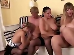 Lascivious Mature Ladies and one fortunate guy