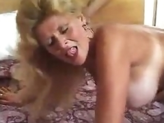 Mature in boots fucked in the a-hole from behind