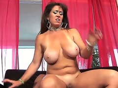 Naughty milf Anita Cannibal is having wild pounding with man. This babe plays with his obese palpitating piece of meat by face hole and hand before getting the shlong into twat.