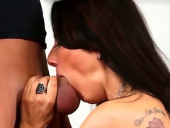 Young handsome fellow Xander Corvus records in point of view seductive arousing and playful milf Zoey Holloway with ideal billibongs and outstanding orall-service skills sucking his stiff pecker