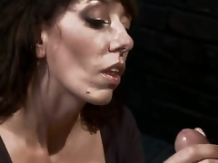 Desperate MILF with massive love muffins is reduced to an object of wish and torment when she tries to seduce a urinated off and perverted mechanic! Amazing skillful milf with unfathomable throat!