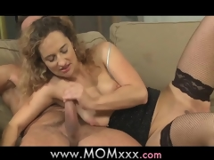 Mama horny housewife is in the mood for fucking