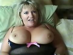 Sexy Curvy Mature Gangbanged