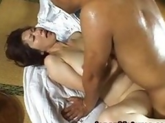 Shouda Asian adult babe gets it doggy part3