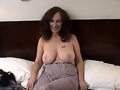 MILF floozy receives filthy with hairy dude