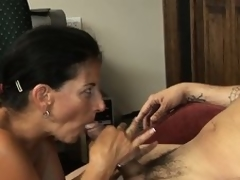 She blows his penis and about to gets on tap bottom to ride his magic narrows on tap work
