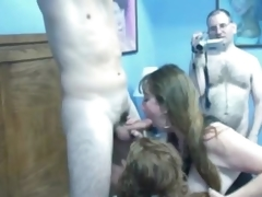 Hot amateur wives love a good orgy